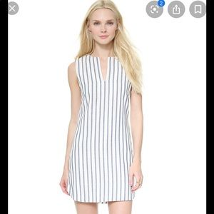 NWT Blue&White Striped  BCBG Maxazria dress